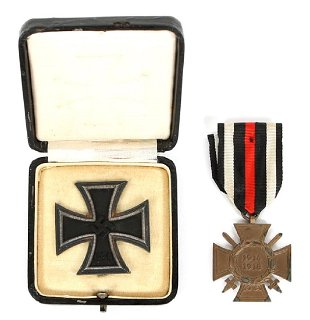 Original LARGE German WW1 Iron Cross, 1914 - Feb 17, 2019