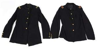 INDIAN WARS US ARMY M1884 OFFICER SACK COAT LOT