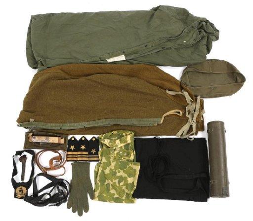 WWII US MILITARY FIELD GEAR MIXED ITEM LOT