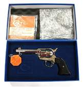 NICKEL PLATED COLT SINGLE ACTION ARMY REVOLVER