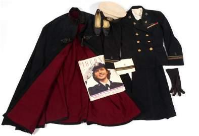 WWII US NAVY FLIGHT NURSE OFFICER DRESS UNIFORM