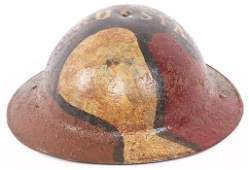 WWI US AEF M1917 RUSSIA EXPEDITIONARY FORCE HELMET