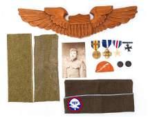 WWI  VIETNAM US ARMY CAP MEDAL  PATCH LOT