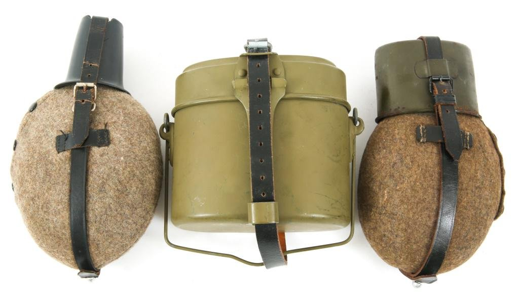 WWII GERMAN ARMY CANTEEN & MESS KIT