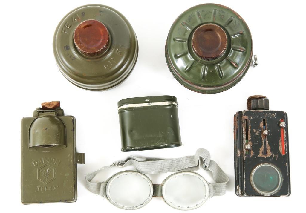WWII GERMAN ARMY FIELD GEAR LOT