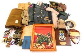 WWII - KOREA 2nd INFANTRY DIV Lt Col NAMED GROUP