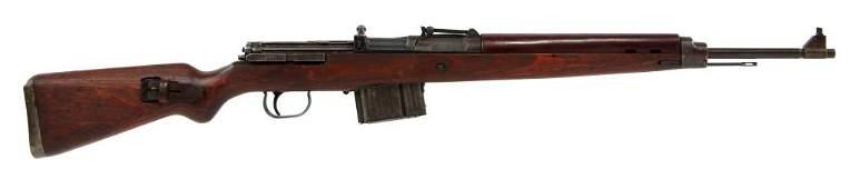 WWII GERMAN BERLINER-LUBECKER MODEL 43 RIFLE
