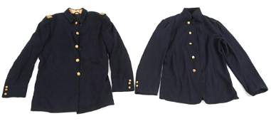 INDIAN WARS US ARMY OFFICER SACK COAT LOT OF 2