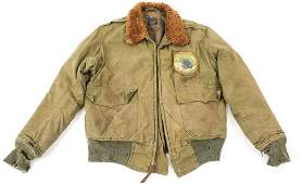 WWII 433rd FIGHTER SQUADRON B-10 FLIGHT JACKET