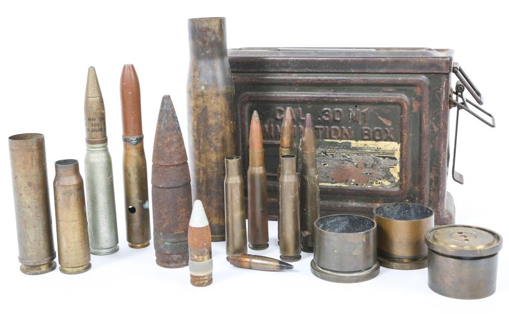 WWII US TRENCH ART LOT OF 15