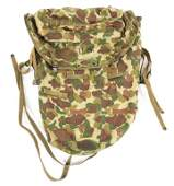 WWII USMC FROG CAMO JUNGLE PACK DATED 1943