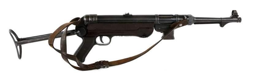 GERMAN MP40 9mm SUBMACHINE GUN - NFA SALES SAMPLE