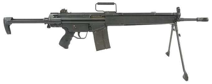 HECKLER & KOCH MODEL HK91 .308 WIN RIFLE