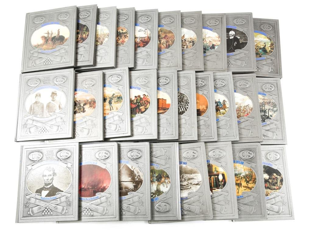 TIME-LIFE THE CIVIL WAR COMPLETE SET LOT OF 28