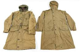 WWII US MOUNTAIN TROOPS  USN PARKA LOT OF 2