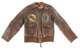 WWII 5th AF 418th NIGHT FIGHTER SQUADRON A2 JACKET