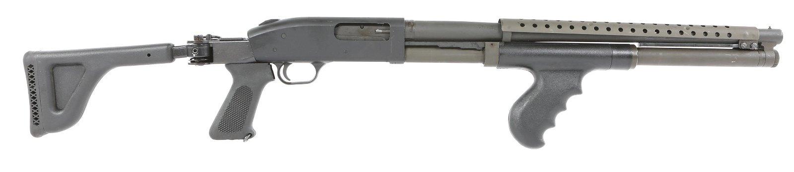 MOSSBERG MODEL 500A 12 GAUGE FOLDING STOCK SHOTGUN