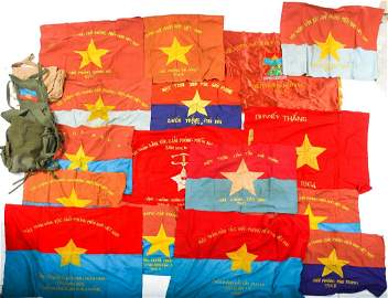 VIETCONG MILITARY FLAGS