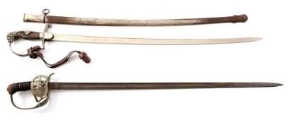 IMPERIAL GERMAN PRESENTATION SWORD LOT OF 2
