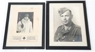 WWII GERMAN THIRD REICH WEHRMACHT PORTRAIT PHOTOS