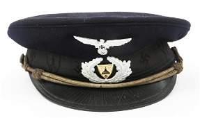 WWII GERMAN VETERAN RKB VISOR CAP