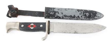 GERMAN HITLER YOUTH KNIFE By HUBERTUS