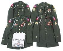 US ARMY 82nd AIRBORNE DRESS UNIFORM LOT OF 4