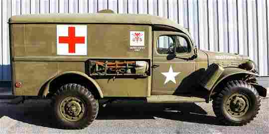 1944 US DODGE WC54 AMBULANCE