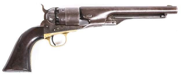 1862 COLT M1860 ARMY .44 CAL PERCUSSION REVOLVER