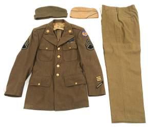 WWII 8th AAF COMBAT AIRCREW NCO DRESS UNIFORM