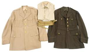 WWII US ARMY AIR FORCE OFFICER DRESS UNIFORM LOT