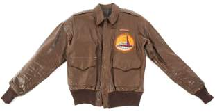 WWII USAAF AIR TRANSPORT COMMAND A2 FLIGHT JACKET