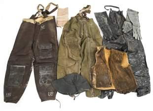 WWII USAAF FLIGHT TROUSERS UNIFORM LOT
