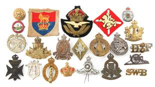 BRITISH COMMONWEALTH FORCES INSIGNIA LOT