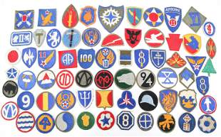 20TH C. US ARMY & USAF PATCHES LOT