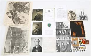 WWI - WWII BRIGADIER GENERAL & SONS NAMED GROUPING