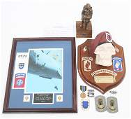 GULF & IRAQ WAR 5TH SF GROUP AIRBORNE NAMED LOT