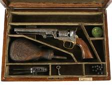 ENGRAVED 1860 COLT MODEL 1849 REVOLVER - NIMSCHKE