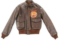 WWII 8th AAF 731st BOMB SQUADRON A2 FLIGHT JACKET