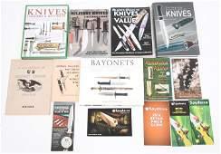 MILITARY KNIVES & BAYONETS REFERENCE BOOKS LOT