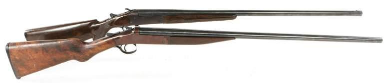EXCEL & STEVENS 20 GA SHOTGUNS FOR PARTS OR REPAIR
