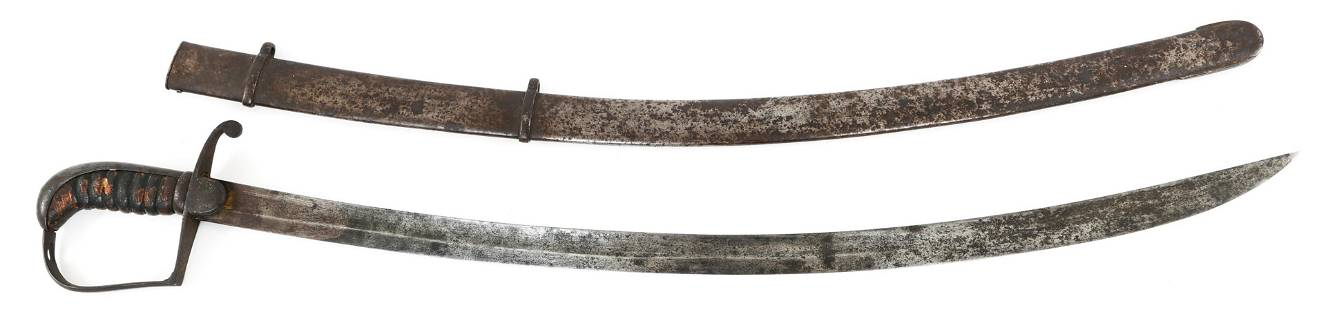 BRITISH M1796 LIGHT CAVALRY OFFICER SWORD