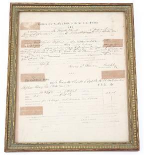 CIVIL WAR CONFEDERATE SOLDIER DISCHARGE PAPER