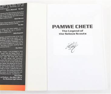 PAMWE CHETE SELOUS SCOUTS REID-DALY SIGNED BOOK