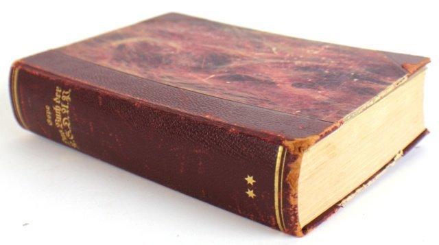 NSDAP PARTY BOOK 1933 CONFISCATED RARE EDITION
