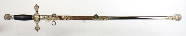 KNIGHTS OF MALTA NAMED FRATERNAL SWORD