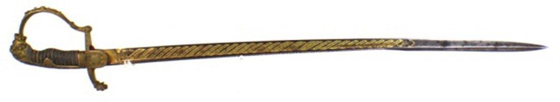 NAMED IMPERIAL GERMAN OFFICER'S PRESENTATION SWORD
