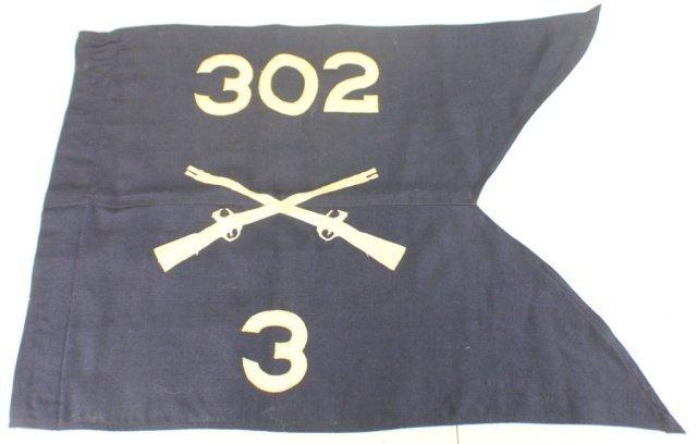 WWII US INFANTRY REGIMENTAL FLAG