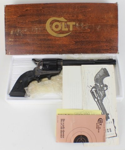 COLT SINGLE ACTION ARMY .357 MAGNUM REVOLVER - 4