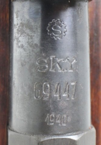 1940 DATED M39 FINNISH MOSIN NAGANT RIFLE - 4